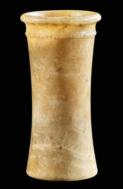 acquired 1989 Vessel Alabaster Egypt 1st/2nd Dynasty, c.