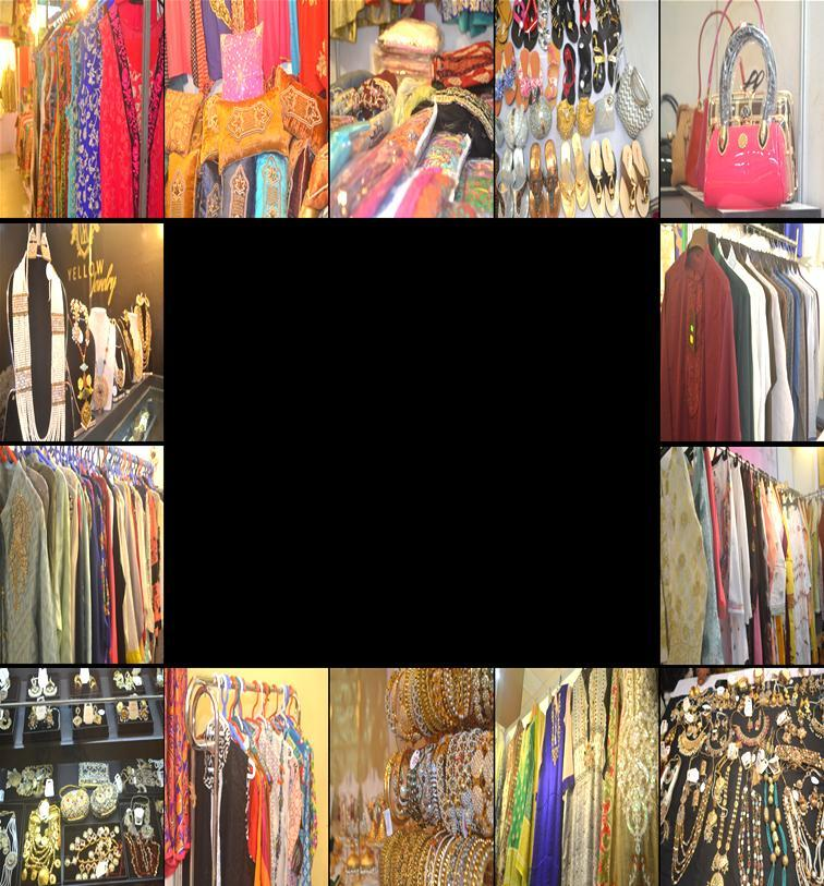 Huge Range & Verities of Product displayed Verities of products & different fashionable items, making the