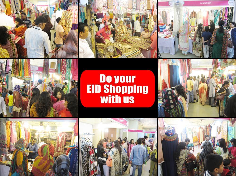 Devoted Exhibition on Eid Shopping With the slogan Do your Eid Shopping with Us, the expo created a good platform for B2B & B2C.