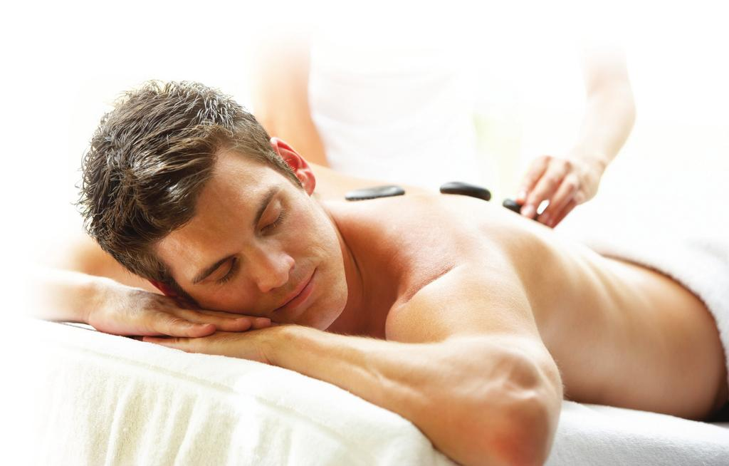 Men s Massage Clarins Muscle Ease Body Massage An intensely therapeutic massage eases tense shoulders, back knots and aches.