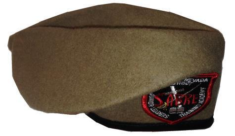 patch Elite JLC Beret w/ patch JACS Beret w/