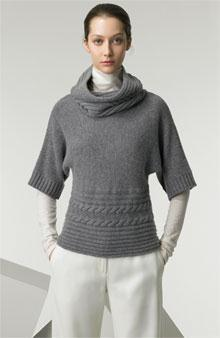 Cowl Collar Top Originally a simple hood attached to a garment, which could be thrown off the head onto the