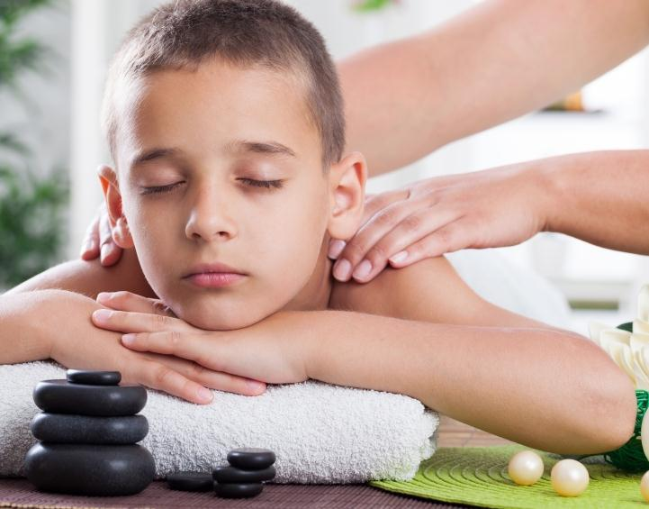 Kids Treatment Kids Massage 30/60 mins 500/1,000 Baht Our gentle body massage is suitable for children from 4-12 years old.