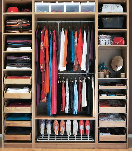 Wardrobe All the apparel a person owns