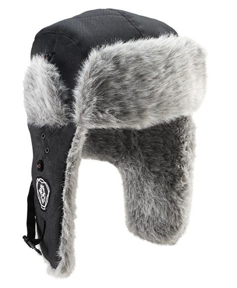 Winter Cap Classic fur cap in 100% nylon with 100% polyester lining.