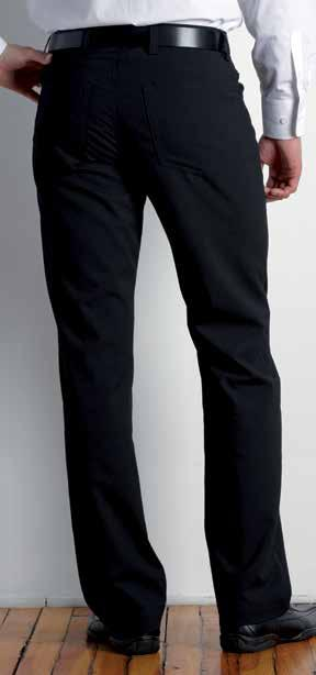 MEN S CLASSIC FLAT-FRONT TROUSER Two front pockets, and 2 buttoned back