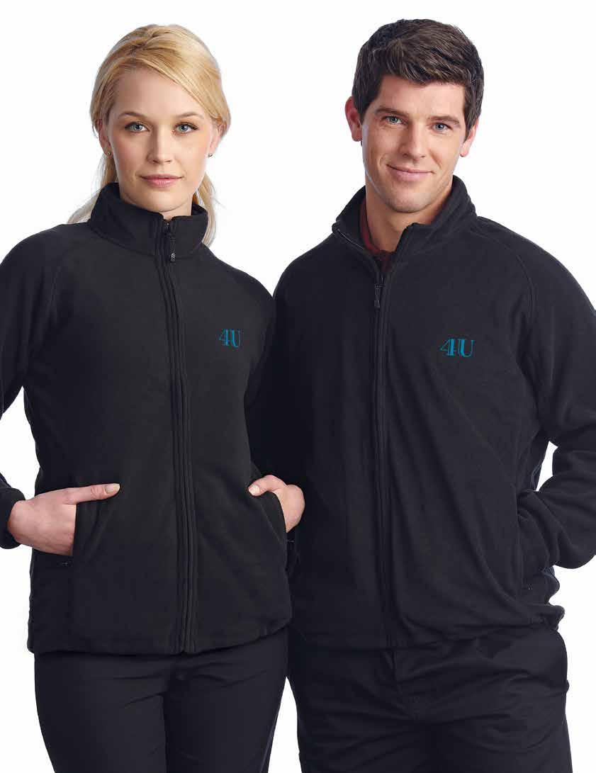 POLAR FLEECE 44 PERSONALIZE WITH EMBROIDERY SECTION SMALL BUDGET BIG STYLE WOMEN S POLAR FLEECE Long sleeves, full zip, two pockets, drawstring waist, anti-pilling,
