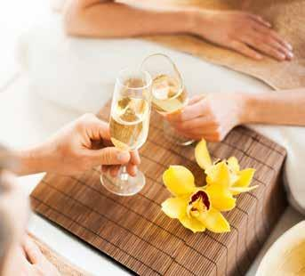 Spa Party Packages Braemar Day Package (Min 3 Pax) $150 pp 60 mins Facial or Swedish massage 2 Selections of freshly made canapés and muffins 2 glasses of NZ bubbles Exclusive use of day spa complex