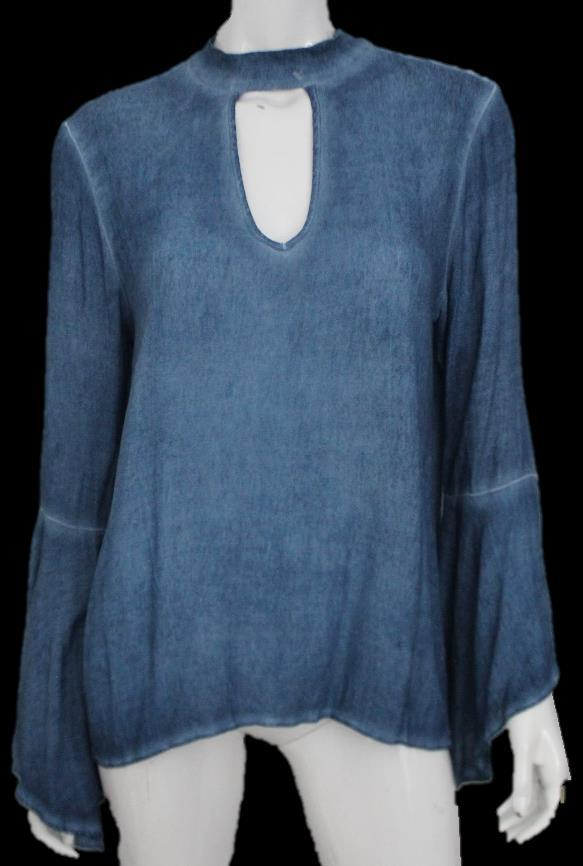 BLOUSE VST6133- WASHED