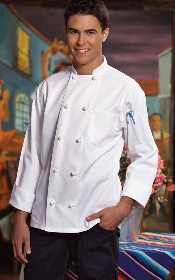 classic knot chef coat One of the finest chef coats on the market today.