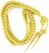Shoulder Cords: The Lone Star Grand Commandery has approved the wear of yellow shoulder cords on left shoulder for all Past Eminent Commanders, Honorary Past Eminent Commanders, and sitting Eminent