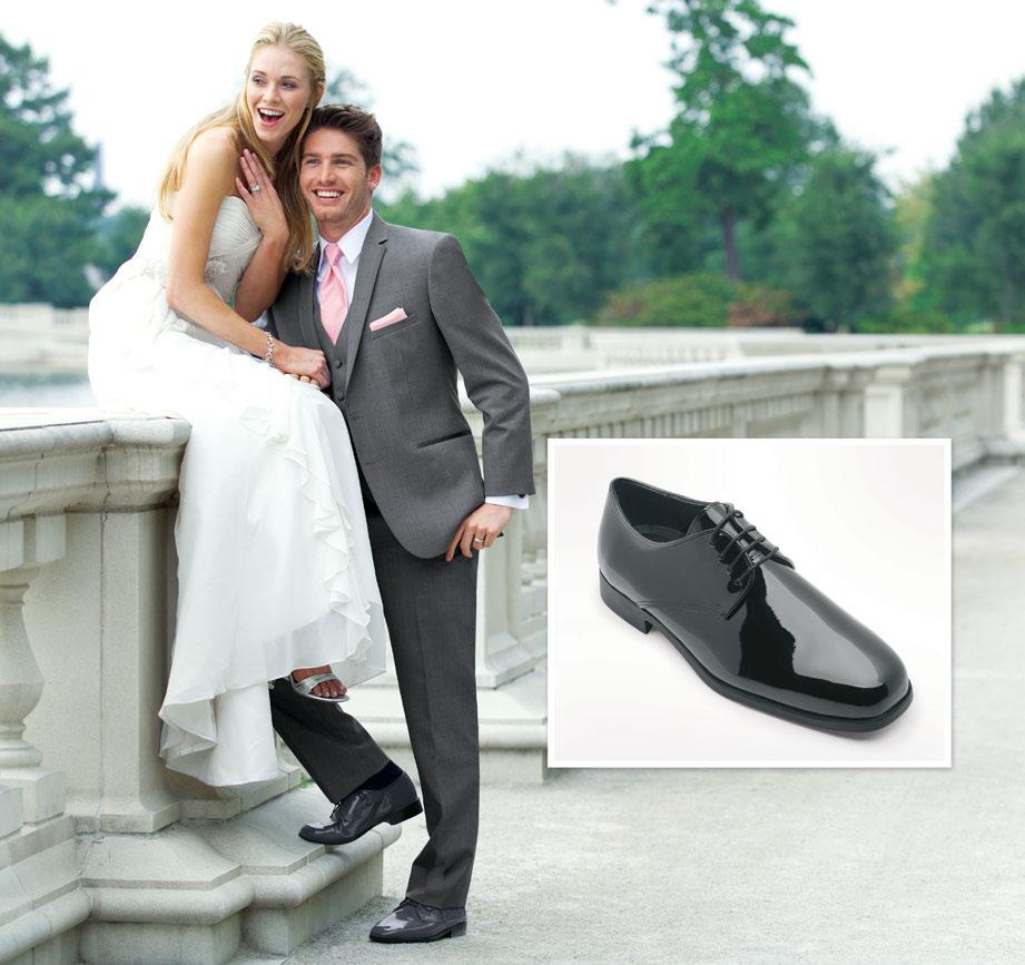Grey Allegro Formal Shoe GCS Grey Allegro Shoe Shoe Rental Price: Style 322 Stephen Geoffrey Grey Aspen Slim Fit