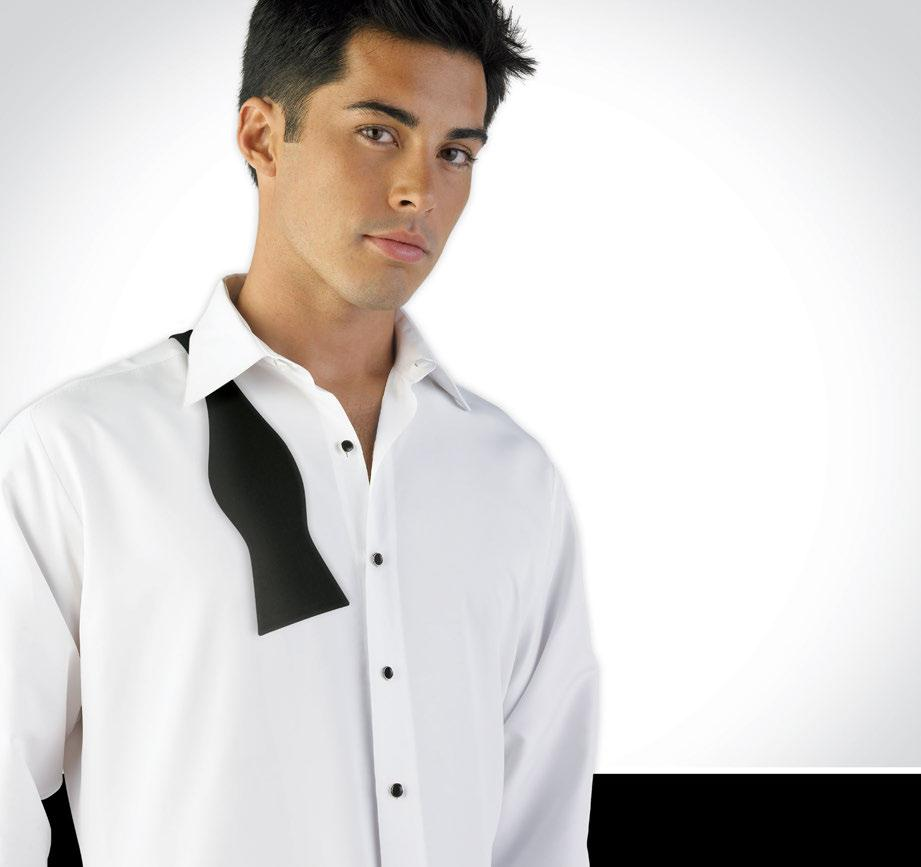 MICROFIBER SHIRTS Available in White, Ivory & Black The Softness of Silk and the Comfort of Cotton! We recommend luxurious Microfiber Shirts for any formal event.