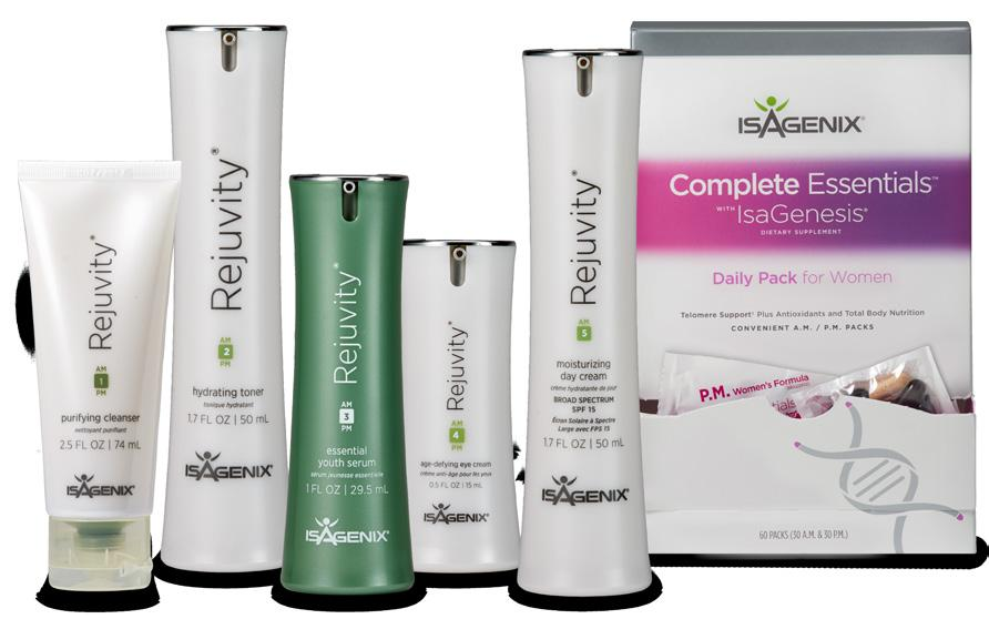 of powerful Rejuvity products along with the Complete Essentials