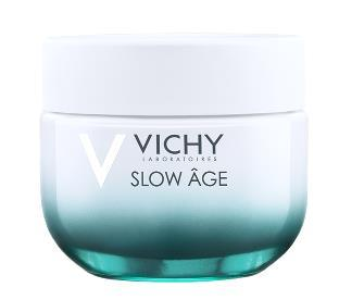 Vichy Eye Cream Slow Âge Fluid Comprises a filter system offering SPF 25 for broad-spectrum daily anti- UV protection, including UVA.