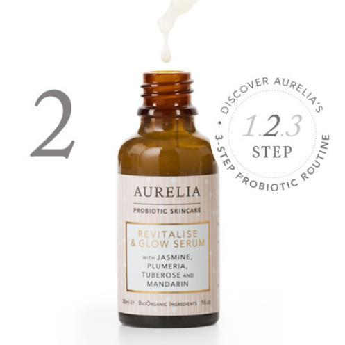 STEP 2: Apply a concentrated hit of probiotics using our This super-lightweight serum contains our highest concentration of probiotics and works to transform dull, polluted and fatigued skin, for an