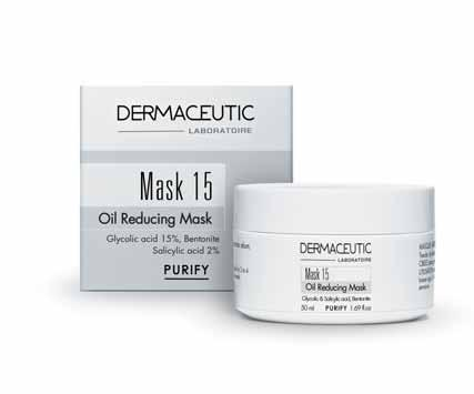 purify Foamer 15 exfoliating foam Mask 15 OIL REDUCING MASK Expert Cleanser Removes impurities and dead cells, and purifies the skin.