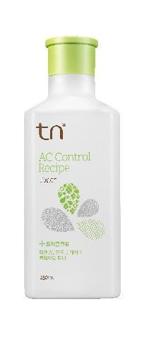 TN CN CONTROL RECIPE TONER 150ml Daily Care : Step 2 Stabilizing Amount : 150ml Skin type : Oily & Sensitive Shelf life : 30M Key Ingredient - HOUTTYUNIA delivers extent moisturizing effect -