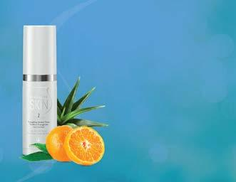Alcohol-free and mandarin scent Hydrates, gently conditions and soothes skin Freshens and cleans skin without drying or stinging Use after cleanser.
