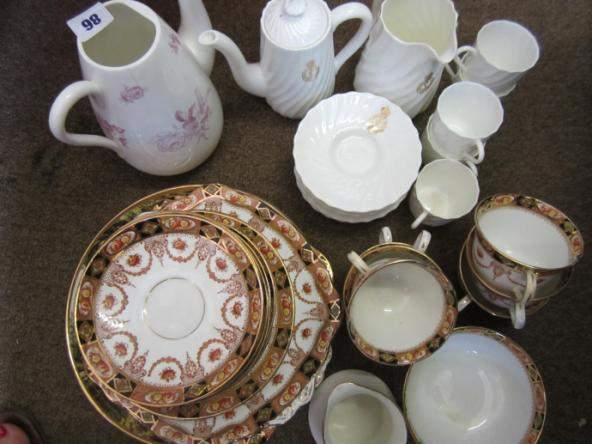 Assorted china including 'George Jones