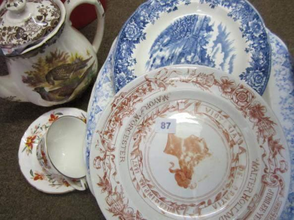 'Royal Albert Lawleys' part teaset and