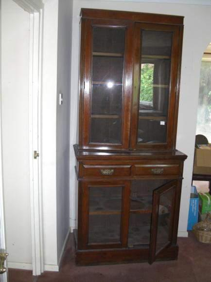 92 cm (3 ft) Edwardian drawing room bookcase