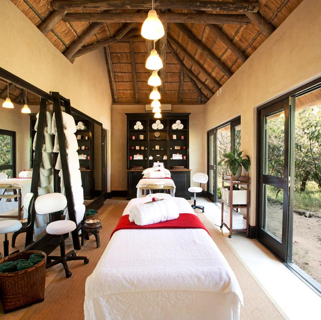 SPA SIGNATURE TREATMENTS ROYAL FACE AND BODY The ultimate African head to toe rejuvenation. This treatment includes a full body scrub in our African baths followed by a body wrap.