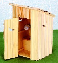 Outhouse Natural 6 H x 3