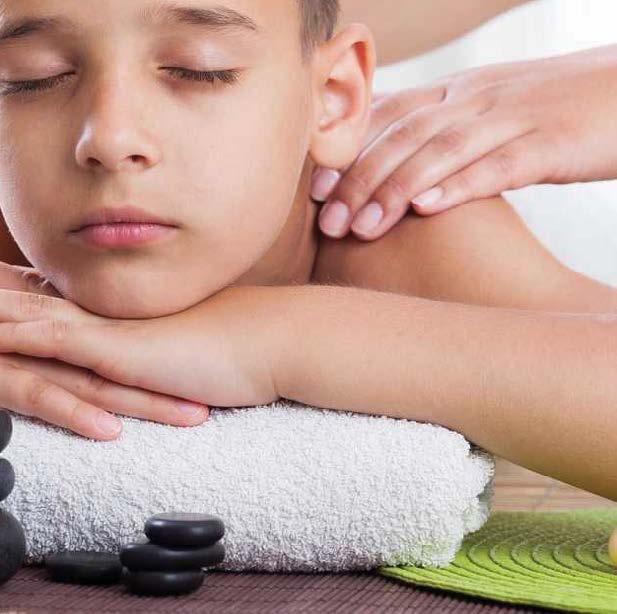Age: 13-18 Teen Regulating Facial 35min 30 Nail Care Manicure Manicure Shellac Express