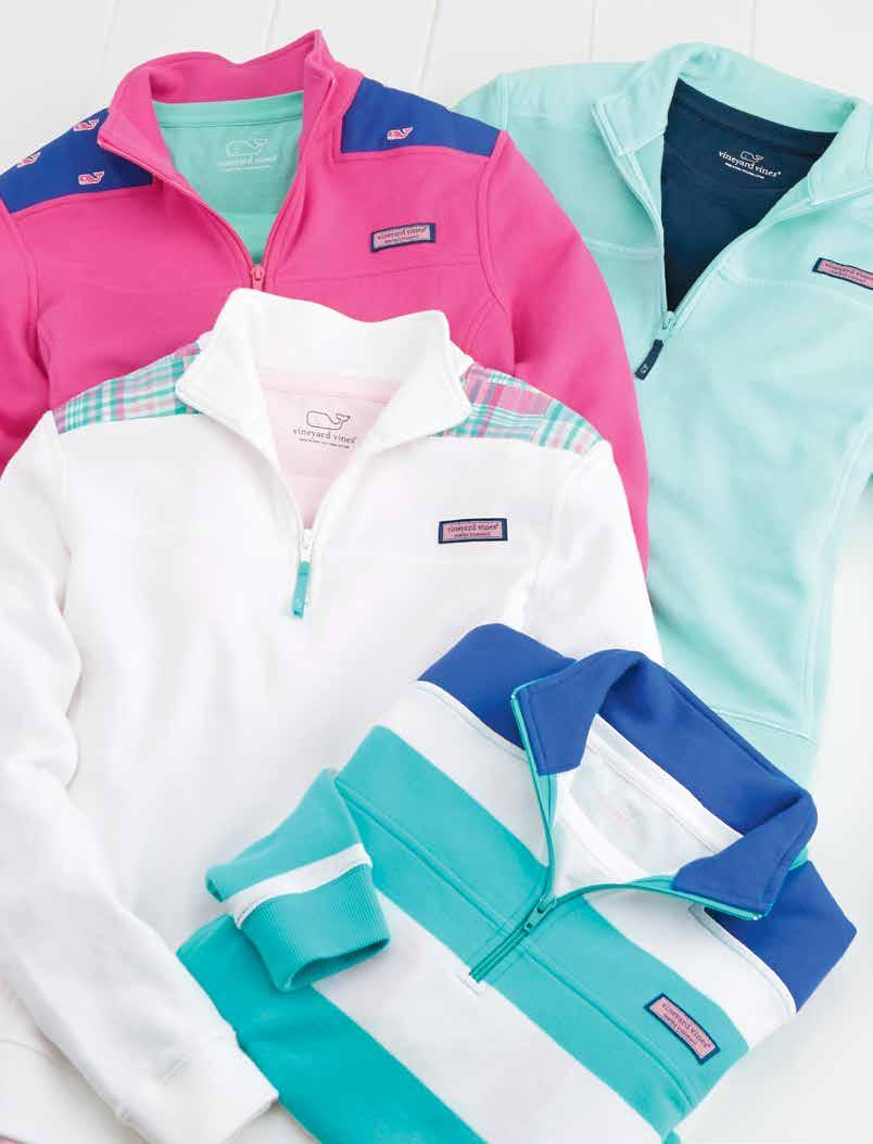 1 3 1. Overdyed shep shirt (K043): 100% cotton-french terry. Imported. $15. Shown in caicos (also available in bahama breeze).. WHALE EMBROIDERED SHEP SHIRT (K0330): 100% cotton-french terry.