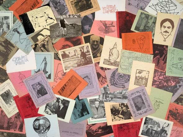 [7] Postcards from Harald Szeemann s collection of pataphysics material.