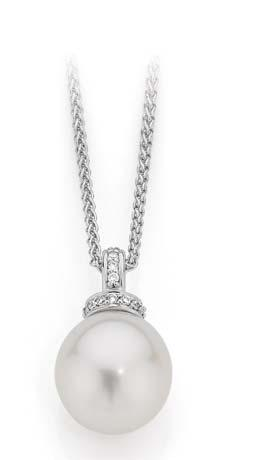 for their superior lustre. $399 South Sea Pearl & 0.