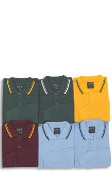 MUNDARING PRIMARY SCHOOL UNIFORMS Long Sleeve Polo with Twin Stripe Collar $19.
