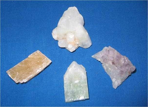 Lot #83 (4) Indian Minerals