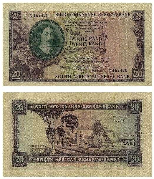 Banknotes with