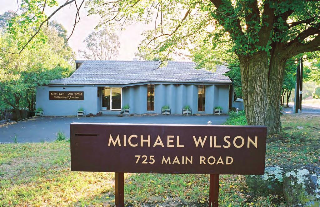 The Michael Wilson Experience At Michael Wilson Diamond Jewellers we pride ourselves on customer relations and believe in building an ongoing relationship with our clients as we share in many