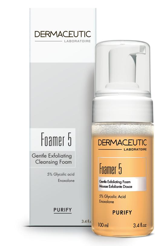 PURIFY Foamer 5 GENTLE EXFOLIATING CLEANSING FOAM Gentle Expert Cleanser Gently removes impurities and dead cells and purifies the skin.