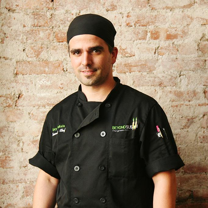 THE FOUNDERS After finishing his military duties in the Israeli Defense Force, Israel native, Chef Guy Vaknin moved to New York in 2005 to pursue his dream of working as a Chef in America.