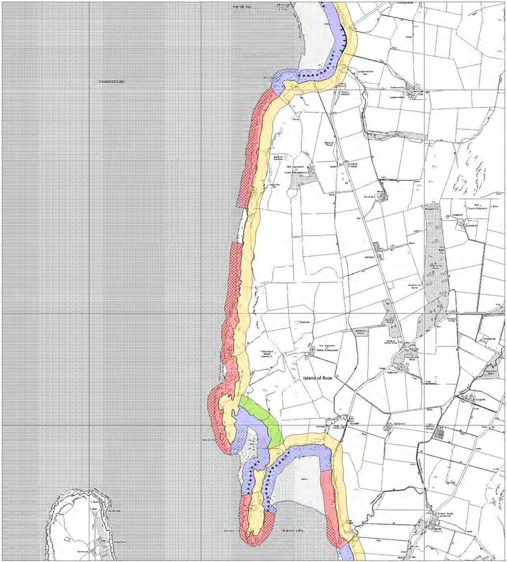BUTE MAP 8 - HINTERLAND GEOLOGY AND FORESHORE GEOMORPHOLOGY St Ninian's