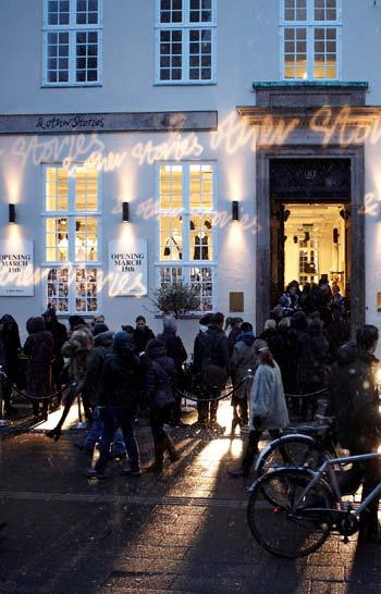 & OTHER STORIES Fantastic reception at the launch stores in seven big cities in the spring: London, Copenhagen, Stockholm, Paris, Berlin, Milan and Barcelona shop
