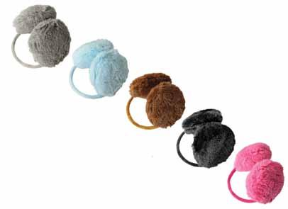 EARMUFFS ELAN BLANC 7 Matching Page 13 #1018 $.50 Super Soft Earmuffs Velvet Band #1019 $7.