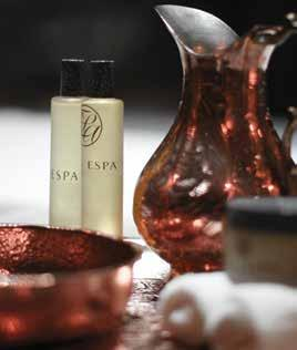espa massages ESPA body massages combine the best of ancient and modern techniques and formulations from around the world to release tension, encourage well-being, and bring mind and body back to