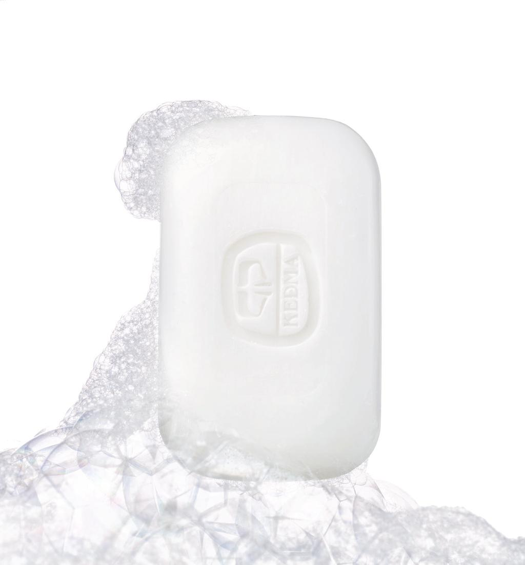 This soap facilitates the drying up of acne blemishes, helps the skin heal and prevents new blemishes