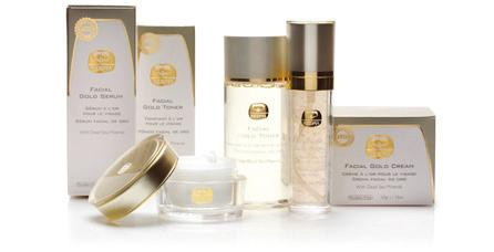 Gold Facial Cream This mineral-rich cream is your golden beauty seal to restore youthful glow.