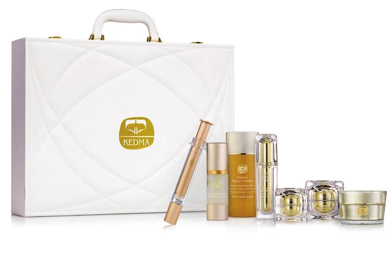and Ultimate Cream, Gold Toner, Gold Facial Peel and Gold Facial Mask.
