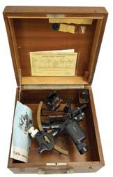 a fitted wood box, patented 1892. Circa 1920 8.5in x 21.5in x 11.75in 699* C.