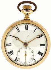 757 Hatton & Harris, London, pocket chronometer movement now mounted in a purpose made bowl for marine use, 21.
