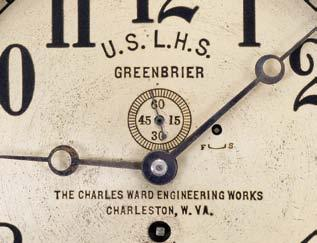 The Greenbrier circa 1900 765 Chelsea Clock Co.