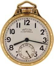 , Lancaster, Penn., man s gold pocket watch, for J.C.