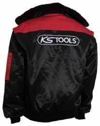 Pilot jacket 3 in 1 - red-black Removable sleeves, interior lining and comfort fur collar Shell material: 60% Cotton 40%